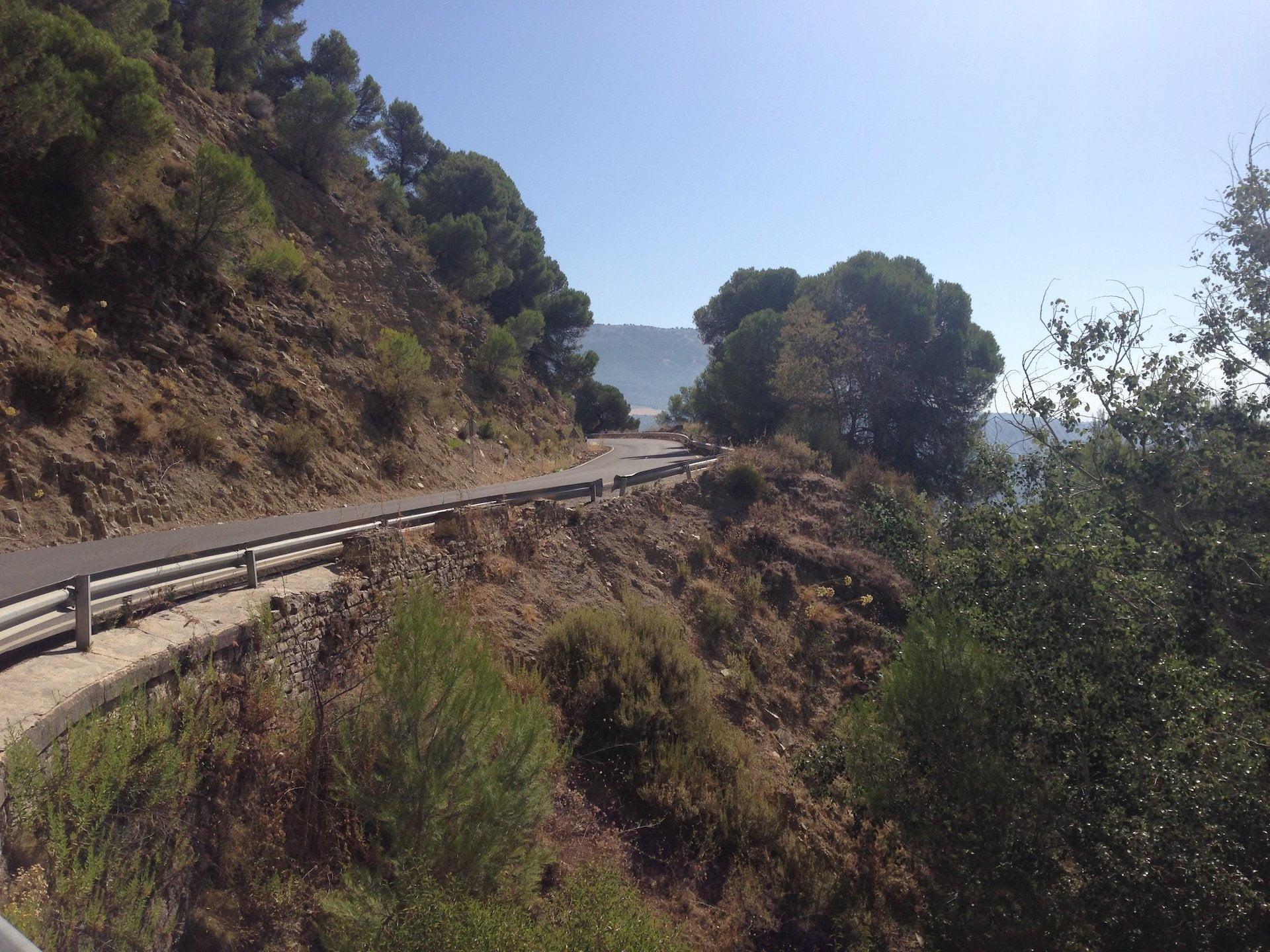 Beklimming Alto de Monte Frío
